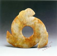新石器时代晚期后段龙山文化玉牙璧