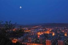 仪陇县夜景